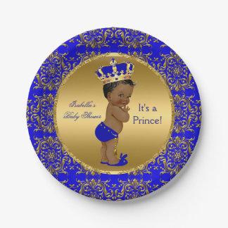 Chá de fraldas do príncipe Coroa dos azuis
