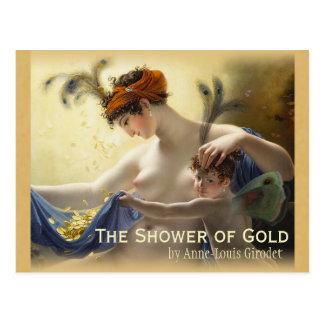 Chá de Girodet do cartão do ouro CC0680