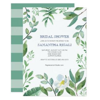 Chá de panela das hortaliças convite 12.7 x 17.78cm