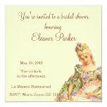 Chá de panela de Marie Antoinette Convites Personalizado