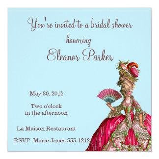 Chá de panela de Marie Antoinette Convites Personalizados