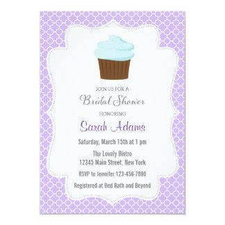 Chá de panela do cupcake convite