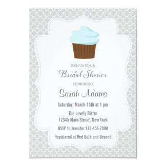 Chá de panela do cupcake convites personalizado