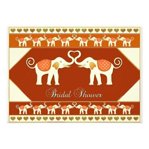 Chá de panela dos elefantes brancos convite personalizado