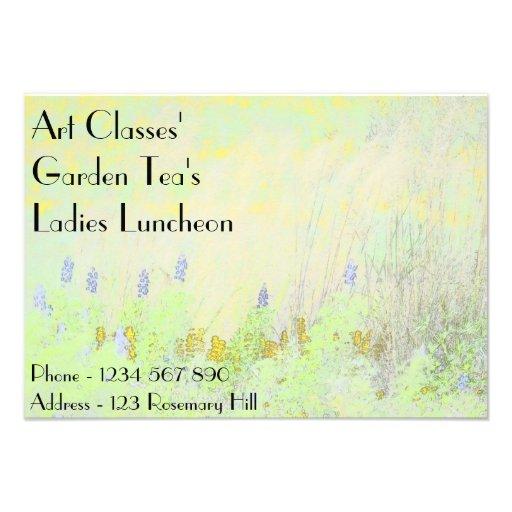 Chá do jardim do almoço das senhoras das classes d convites