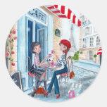 Chá em Paris Adesivo