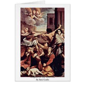 Chacina dos Innocents, por Reni Guido Cartões