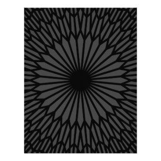Chakra escuro papel timbrado
