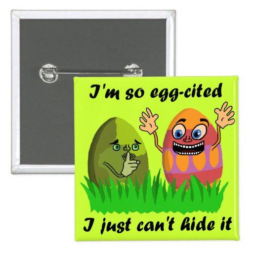 Chalaça engraçada dos ovos da páscoa boton