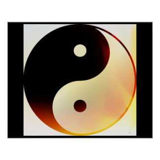 Chama de Yin e de Yang Poster
