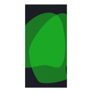 Chama verde cartoes com foto