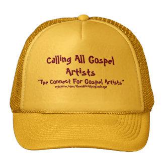 """Chamando todos os artistas do evangelho, """"a conexã bones"""