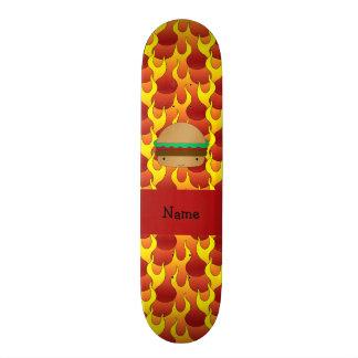 Chamas conhecidas personalizadas do Hamburger Skates