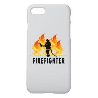 Chamas de combate ao fogo capa iPhone 7