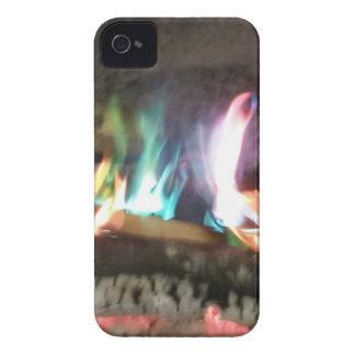 Chamas originais da fogueira da cor capa para iPhone