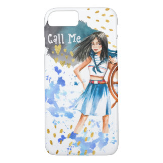 """Chame-me"" capa de telefone do iPhone mal lá"