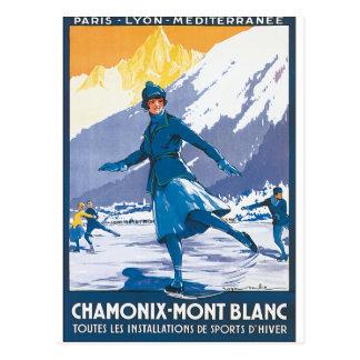 Chamonix-Mont Blanc Cartão Postal