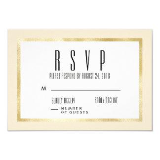 Champagne + Cartão clássico do convite de