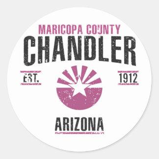 Chandler Adesivo Redondo