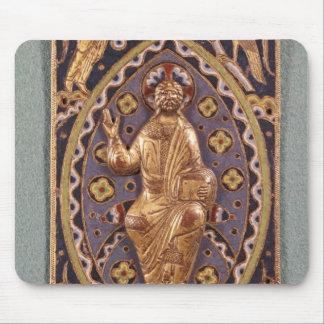 Chapa do relicário que descreve o cristo mouse pad