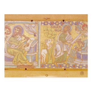 Chapa que descreve St Mark Cartão Postal