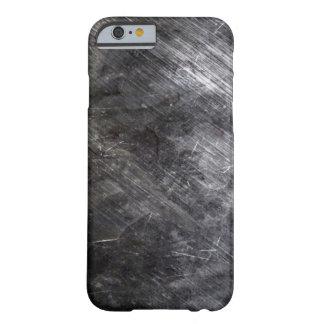 Chapeamento de metal envelhecido capa barely there para iPhone 6