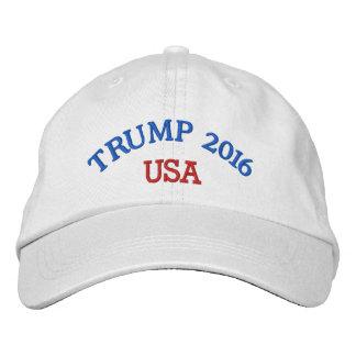 Chapéu 2016 de Donald Trump Boné Bordado