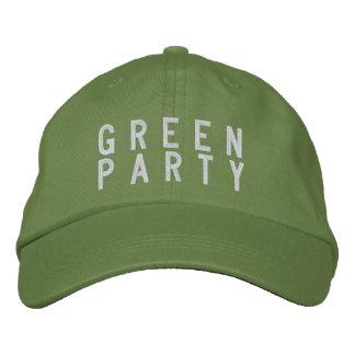 Chapéu 2016 do Partido Verde Boné Bordado