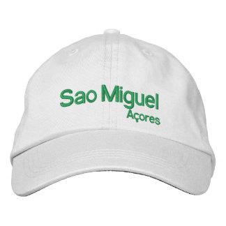 Chapéu ajustável de Miguel* Açores do Sao Boné Bordado