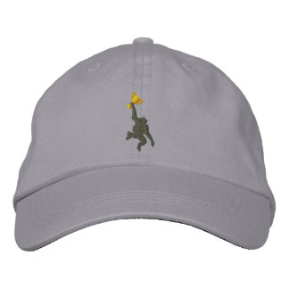 Chapéu ajustável do macaco boné