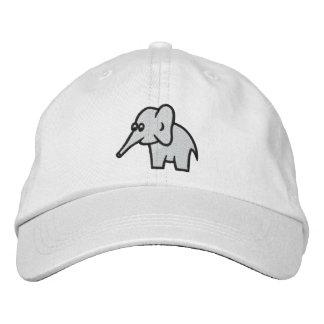Chapéu ajustável personalizado elefante boné bordado
