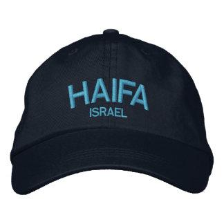 Chapéu ajustável personalizado Israel de Haifa Boné Bordado