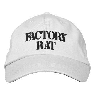 Chapéu ajustável personalizado rato da fábrica boné bordado