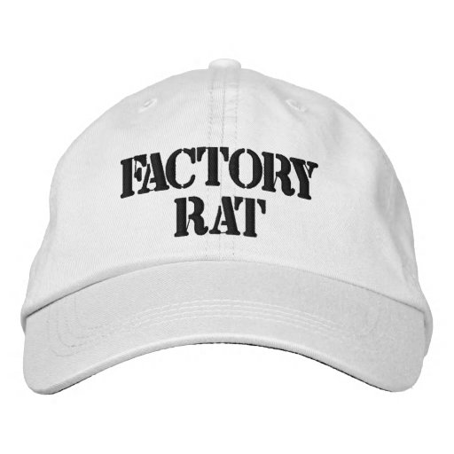 Chapéu ajustável personalizado rato da fábrica bonés