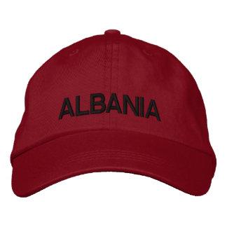 Chapéu ajustável Shqipëri Kapak de Albânia mim Boné Bordado