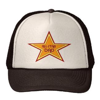 Chapéu All-star do camionista do pai Bone
