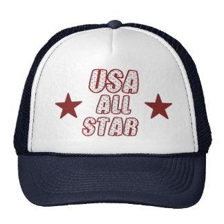 Chapéu All-star dos EUA Bone