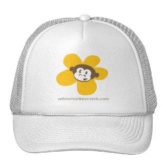 Chapéu amarelo da flor do macaco bones