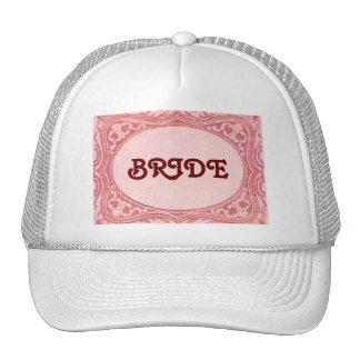 Chapéu antigo da NOIVA do rolo Boné