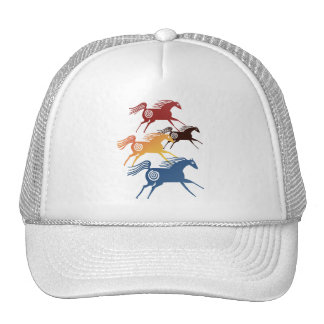 Chapéu antigo de quatro cavalos boné