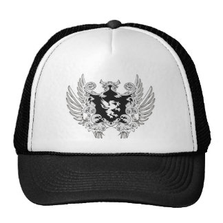 Chapéu antigo preto boné
