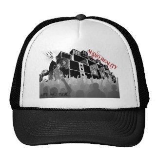 chapéu audio 1 da realidade boné