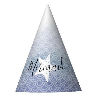 Chapéu azul da festa de aniversário da estrela do