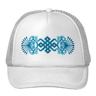 Chapéu azul de Kirttmukha Boné