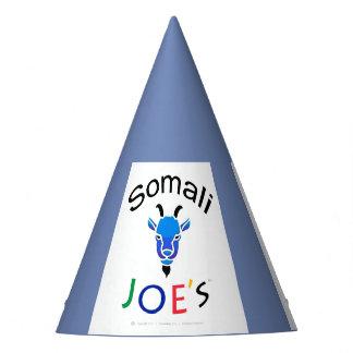 Chapéu azul do partido de rua da cabra do Billy de