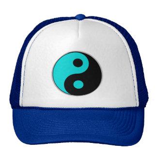 chapéu azul e preto de yang do yin bone