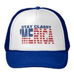 'Chapéu azul elegante do camionista do Snapback da Bonés