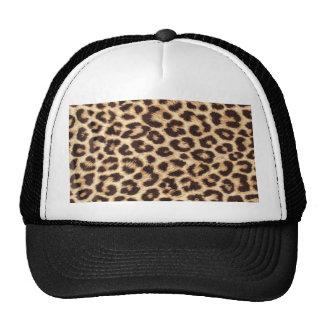 Chapéu/boné do camionista do impressão do leopardo boné