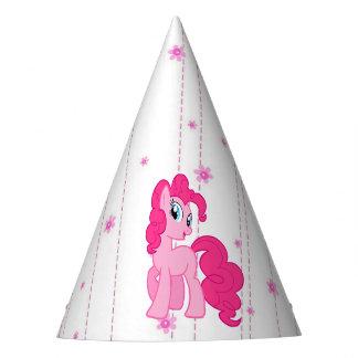 Chapéu bonito do aniversário da menina cor-de-rosa