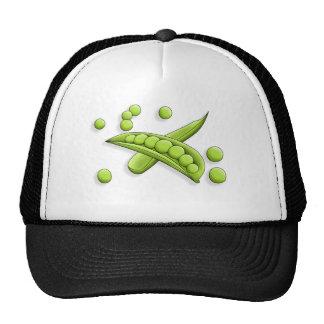 Chapéu bonito do camionista das ervilhas boné
